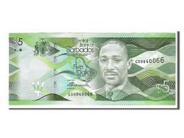 Barbades, 5 Dollars Type F. Worrell - Barbados
