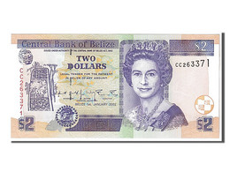 Belize, 2 Dollars Type Reine Elizabeth - Belize
