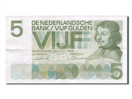 Pays-Bas, 5 Gulden, Type Vondel - 5 Gulden