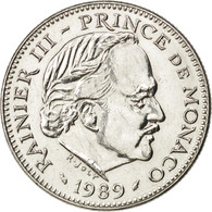 [#32889] Monaco, Rainier III, 5 Francs, 1989, KM 150 - Monaco
