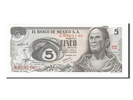 Mexique, 5 Pesos Type 1969-74 - Mexico