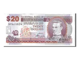Barbades, 20 Dollars Type S. J. Prescod - Barbados