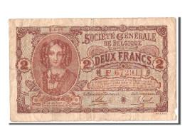 Belgique, 2 Francs Type 1915 - [ 3] Ocupaciones Alemanas En Bélgica