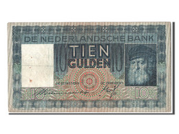 [#303654] Pays Bas, 10 Gulden Type 1930-33 - [2] 1815-… : Royaume Des Pays-Bas