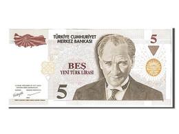 [#108335] Turquie, 5 New Lira Type Kamel Ataturk - Turchia