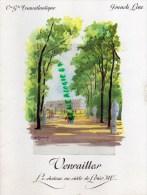 MENU PAQUEBOT FRANCE- FRENCH LINE- CGT- VERSAILLES CHATEAU PAR GALLAND -COMMANDANT C. MAHE-1968 - Menus