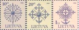 Lietuva Litauen 2002 MNH ** Mi. Nr. 717-719 CII - Lithuania