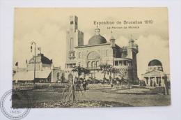 Postcard Belgium - Exposition De Bruxelles 1910 - Le Pavillon De Monaco - Unposted - Exposiciones Universales