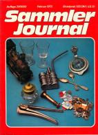 Magazin Sammler-Journal 02/1973 Hobby Sammeln Collector Deutschland GERMANY Collecting Magazine BRD - Hobbies & Collections