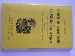 Livre Lle Livre Des Darons Sacrés Ou La Bible En Argot Préface De Jean Cocteau Pierre Devaux 194 Pages 1960 - Livres, BD, Revues
