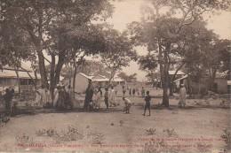 Guinée Française DABOLA  Rue Principale Partant De La Gare - French Guinea