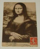 La Joconde De Léonard De Vinci Disparue Du Musée Du Louvre Le 21 Aout 1911 - Musées