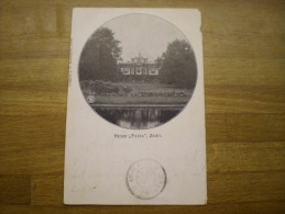 Zeist //  Huize Pavia  // 1904 (keepje) Uitgave: J.F.Marsman - Zeist