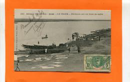 SOUDAN  1907  PIROGUES DE PECHEUR SUR LE NIGER    CIRC  OUI   EDIT FORTIER A DAKAR - Sudan