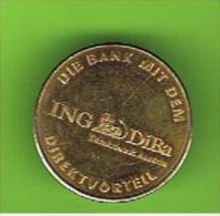 # 050  -  Spielmarke - Jeton - I.N.G. DIRECT BANK - Profesionales/De Sociedad
