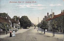 1905 Postcard - HASLEMERE, Surrey - HIGH STREET LOOKING NORTH - Unusual POSTMARK - Surrey