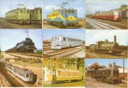 COLECCION COMPLETA DE 50 CALENDARIOS DEL AÑO 2009 DE TRENES (CALENDRIER-CALENDAR) TRANVIA-TRAIN-ZUG-TREN - Calendari