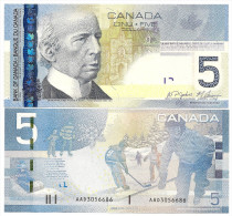 Canada 5 Dollars 2009 Pick 101Ac UNC - Canada