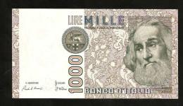 ITALIA 1000 Lire Marco Polo - Firme: Ciampi / Stevani - Repubblica Italiana - [ 2] 1946-… : Repubblica
