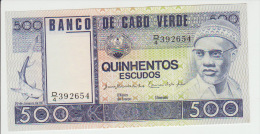 Cape Verde 500 Escudos 1977 Pick 55 UNC - Cap Verde