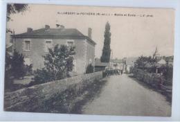 SAINT-LAMBERT-la-POTHERIE - MAIRIE ET ECOLE - Autres Communes