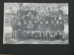 Ref2615 AX109 Carte Photo D'une Classe Primaire De Garçons - Avril 1950 - Ecole De Ille Sur Têt (Pyrénées Orientales) - France