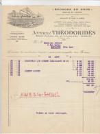 Gironde, Bordeaux, éponges En Gros A. Théodoridès 1935 (voir Explications) - Chemist's (drugstore) & Perfumery
