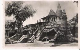 INDOCHINE FRANCAISE 148 CAMBODGE PNOM PENH LE PHNOM ESCALIER ET JARDIN - Cambodge