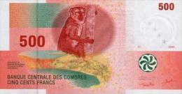 Comores 500 Francs 2006 Pick 15 UNC - Comore