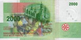Comores 2000 Francs 2005 Pick 17 UNC - Comores