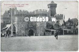 Exposition Universelle, LIEGE 1905 - Les Arènes Liégeoises (animée) - Liège