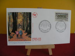 FDC- Congrès Forestier Mondial - 43 Langeac - 22.9.1991 - 1er Jour, - FDC