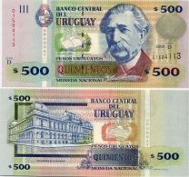 URUGUAY      500 Pesos Urug.    P-90b      2009       UNC - Uruguay