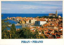 Piran, Slovenia Postcard Used Posted To UK 2004 - Slovenia