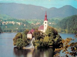 Bled Lake Island, Slovenia Slovenija Postcard - Slovenia
