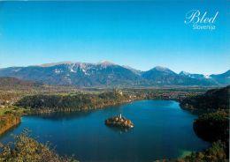 Bled Lake And Island, Slovenia Slovenija Postcard Used Posted To UK 2006 Stamp - Slovenia