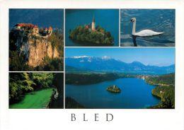 Bled Lake And Island, Slovenia Slovenija Postcard Used Posted To UK 2006 Nice Stamp - Slovenia