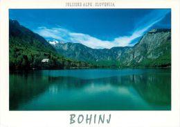 Bohinj, Slovenia Slovenija Postcard Used Posted To UK 2007 Stamp - Slovenia