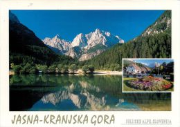 Jasna Kranjska Gora, Slovenia Slovenija Postcard Used Posted To UK 2007 Stamp #2 - Slovenia