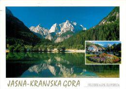 Jasna Kranjska Gora, Slovenia Slovenija Postcard Used Posted To UK 2009 Gb Stamp #3 - Slovenia