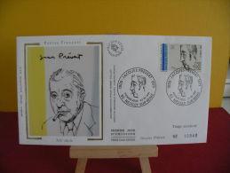 FDC- Poètes Français, Jacques Prévert 1900/1977 - 92 Neuilly Sur Seine - 23.2.1991 - 1er Jour, - 1990-1999