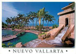 Nuevo Vallarta, Mexico Postcard Used Posted To UK 2009 Stamp - Mexico