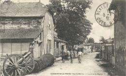 Haute Marne : Dommartin Le Franc, La Scierie PAULIN, Belle Carte Animée - Andere Gemeenten