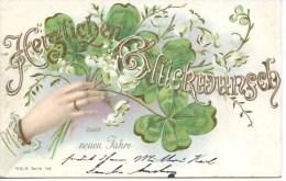 HERZLICHEN GLUCKWUNSCH SUM NEUEN JAHRE 1904 - New Year