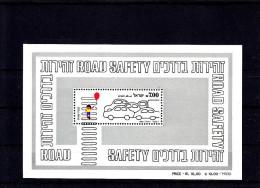 """IL 1982, Israel-Block """"Road Savety"""", Postfrisch, ** - Blocks & Kleinbögen"""