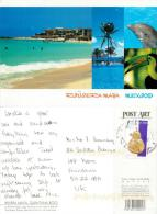 Quintana Roo, Mexico Postcard Used Posted To UK 2012 Nice Stamp - Mexico