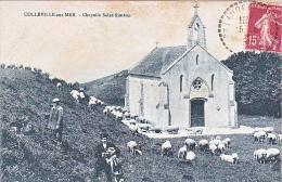 23739 Colleville Sur Mer - Chapelle Saint Siméon - Desaix Paris - Berger Mouton Chien - Non Classés