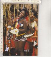 PO5191C# AFRICA DEL SUD - SWAZILAND - DONNE COSTUMI TIPICI  VG - Swaziland