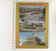 PO5213C# GIBUTI - DJIBOUTI - PIAZZA 27 JUIN - AUTOCARRO NISSAN   No VG - Gibuti