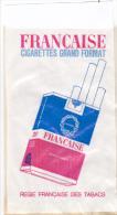 Pochette, Sac Publicitaire Tabac Cigarettes Française, Caporal -allumettes Salon Sagittaire - Papier Cristal - 9x15cm - Publicités